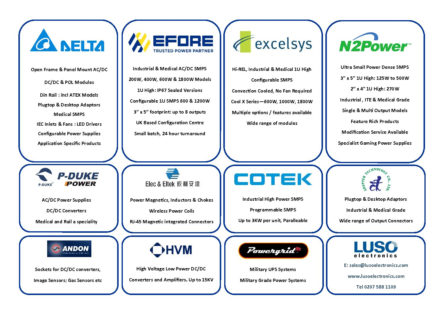 Luso Electronics « CIE Directory